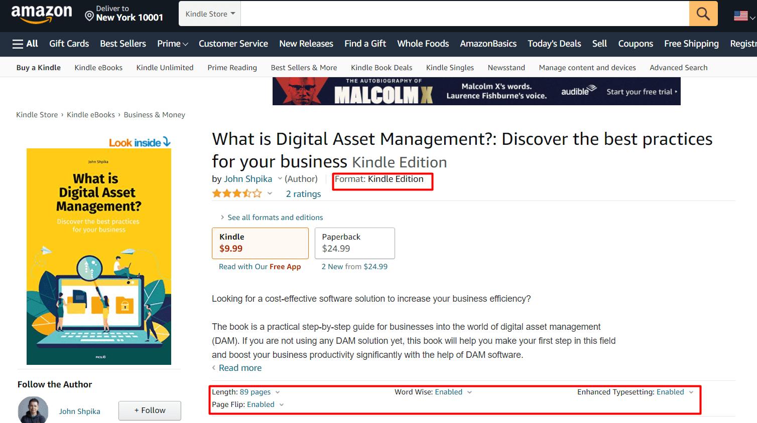 Amazon custom fields