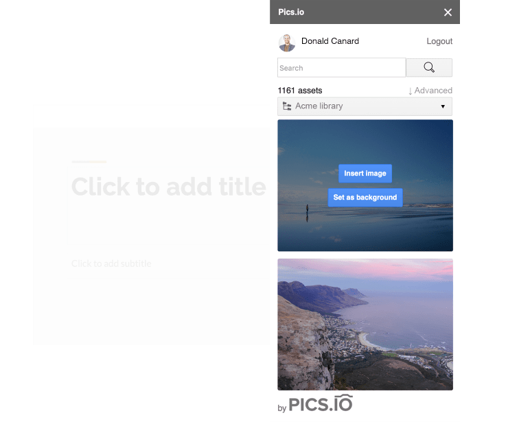 Why integrate Pics.io and Google Slides?