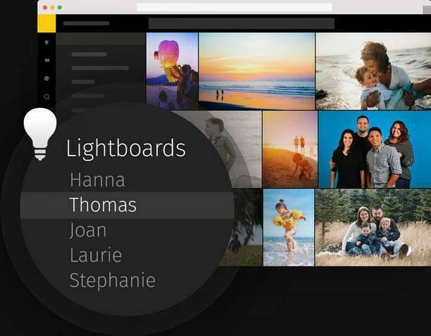 Keep sensitive files in lightboards
