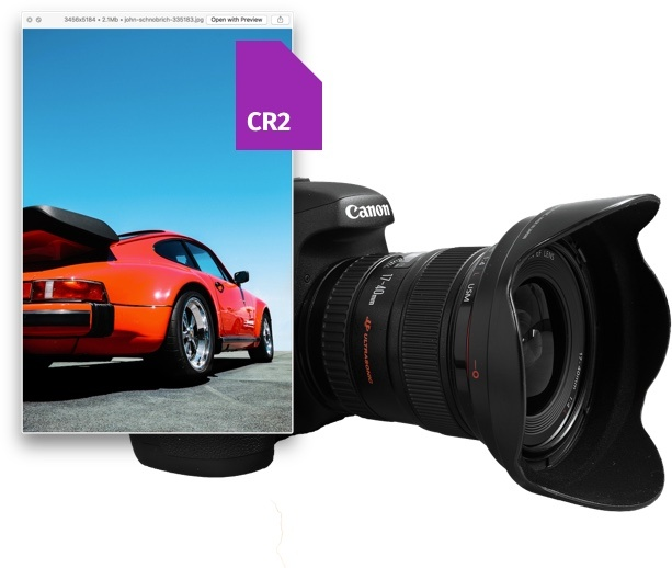 Canon CR2 to JPG online picture converter and CR2 viewer