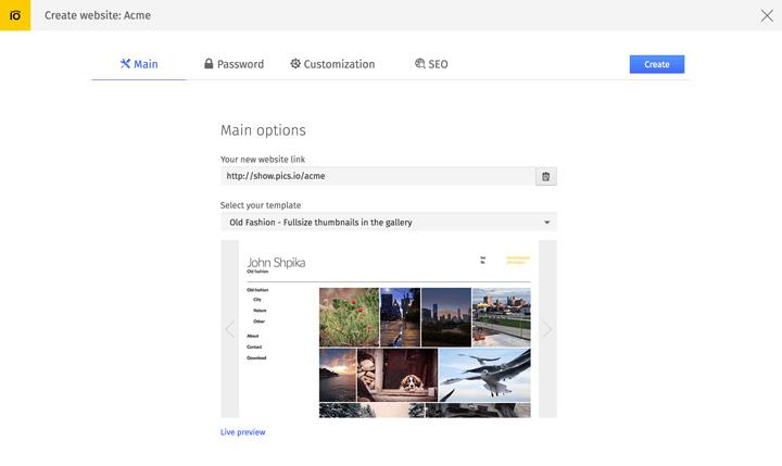 design to web site